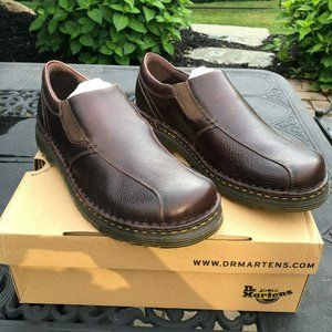 Dr. Martens Tevin Overdrive Brown Leather Loafers